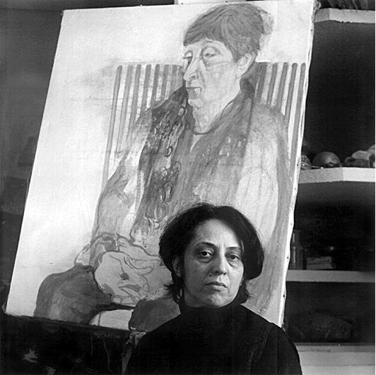 Anabel Martínez Weiss (Ana Weiss) fotgrafiada por el fotografo argentino Oscar Pintor