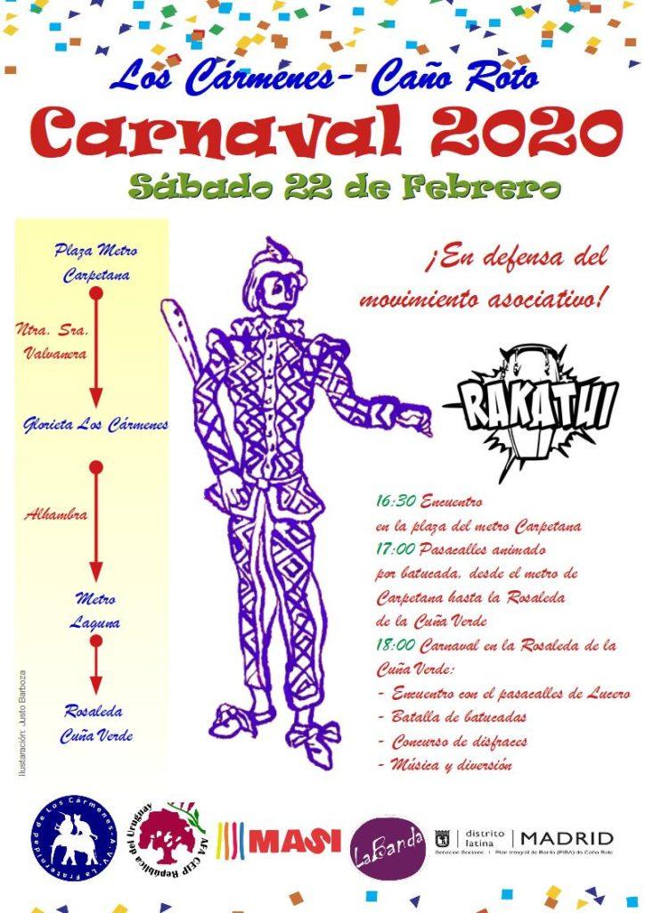 Cartel Carnavales 2020